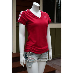 Adidas Women's Size S Clima365 Cotton Athletic Top